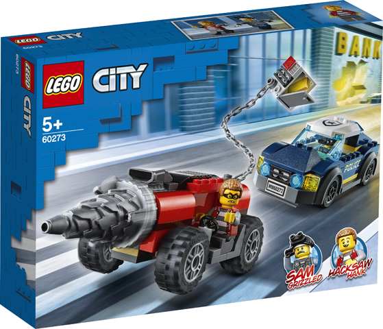 LEGO City 60273 Elite Police Driller 1