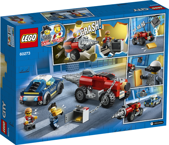 LEGO City 60273 Elite Police Driller 2