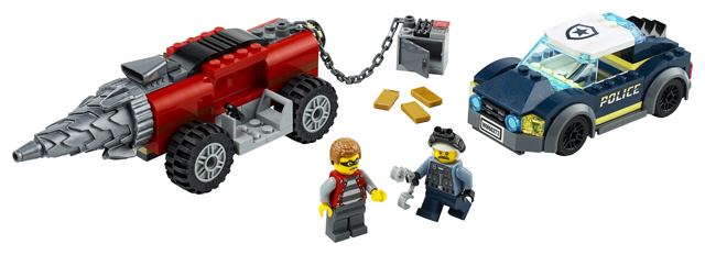 LEGO City 60273 Elite Police Driller 3