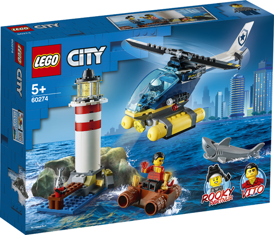LEGO City 60274 Elite Police Lighthouse 1