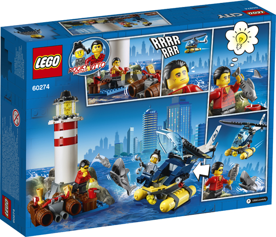 LEGO City 60274 Elite Police Lighthouse 2