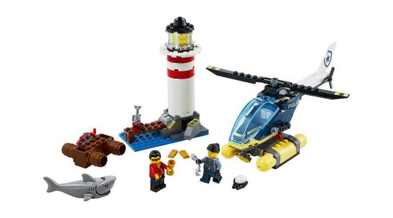 LEGO City 60274 Elite Police Lighthouse Featured
