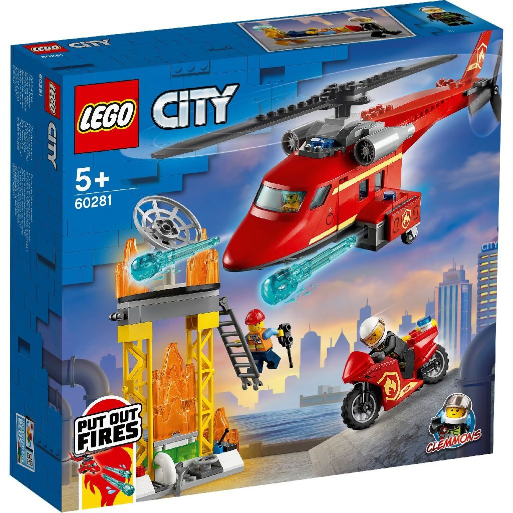 LEGO City 60281 Fire Rescue Helicopter 1 1024x1024