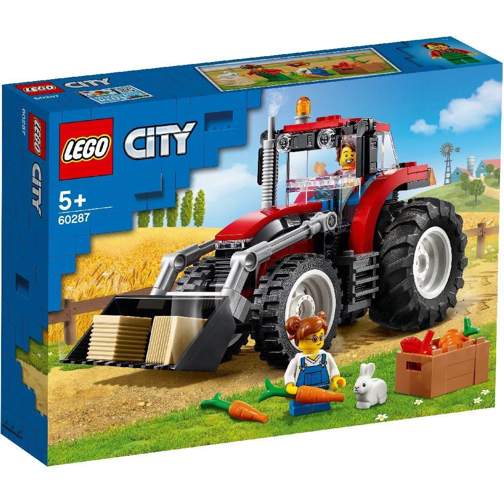 LEGO City 60287 Tractor 1