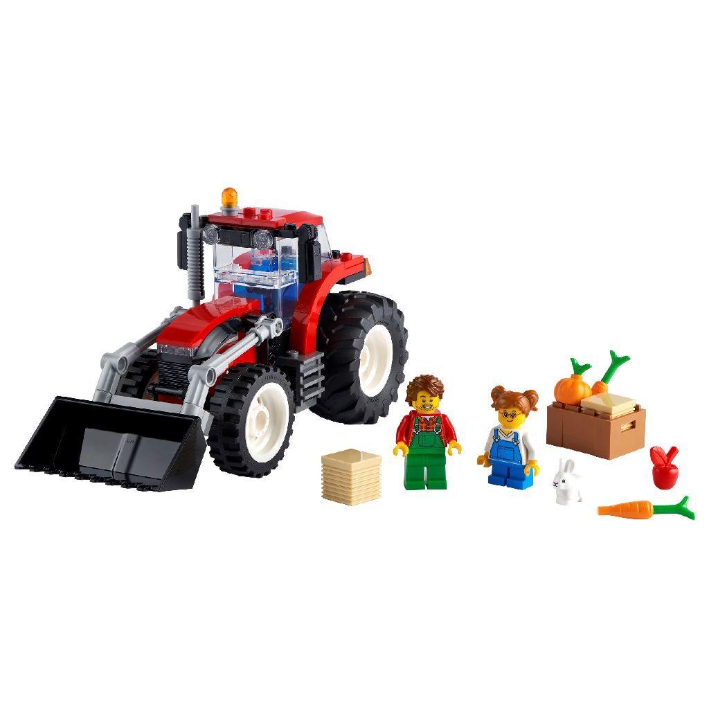 LEGO City 60287 Tractor 2