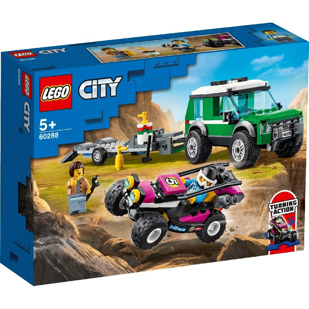 LEGO City 60288 Race Buggy Transporter 1 1024x1024