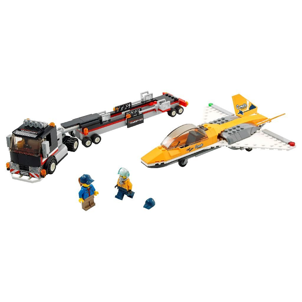 LEGO City 60289 Airshow Jet Transporter 1