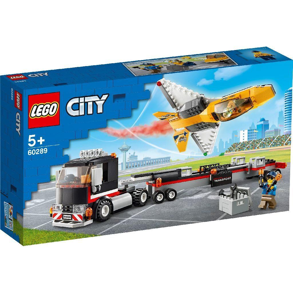 LEGO City 60289 Airshow Jet Transporter 2