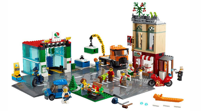 LEGO City 60292 Town Center Featured 800x445