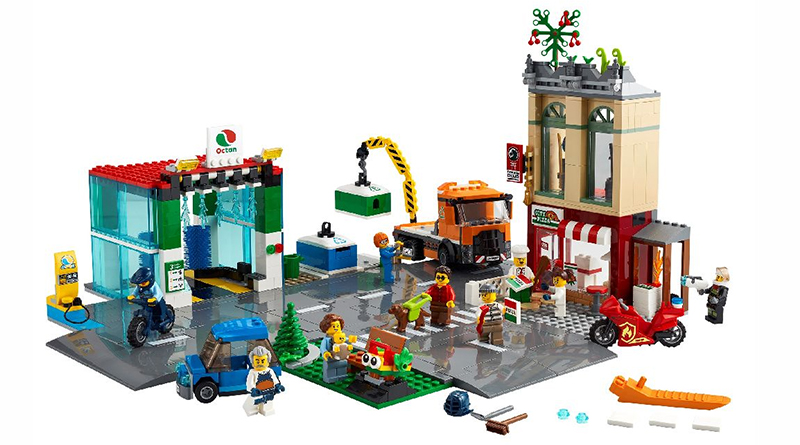 LEGO City 60292 Town Center Featured