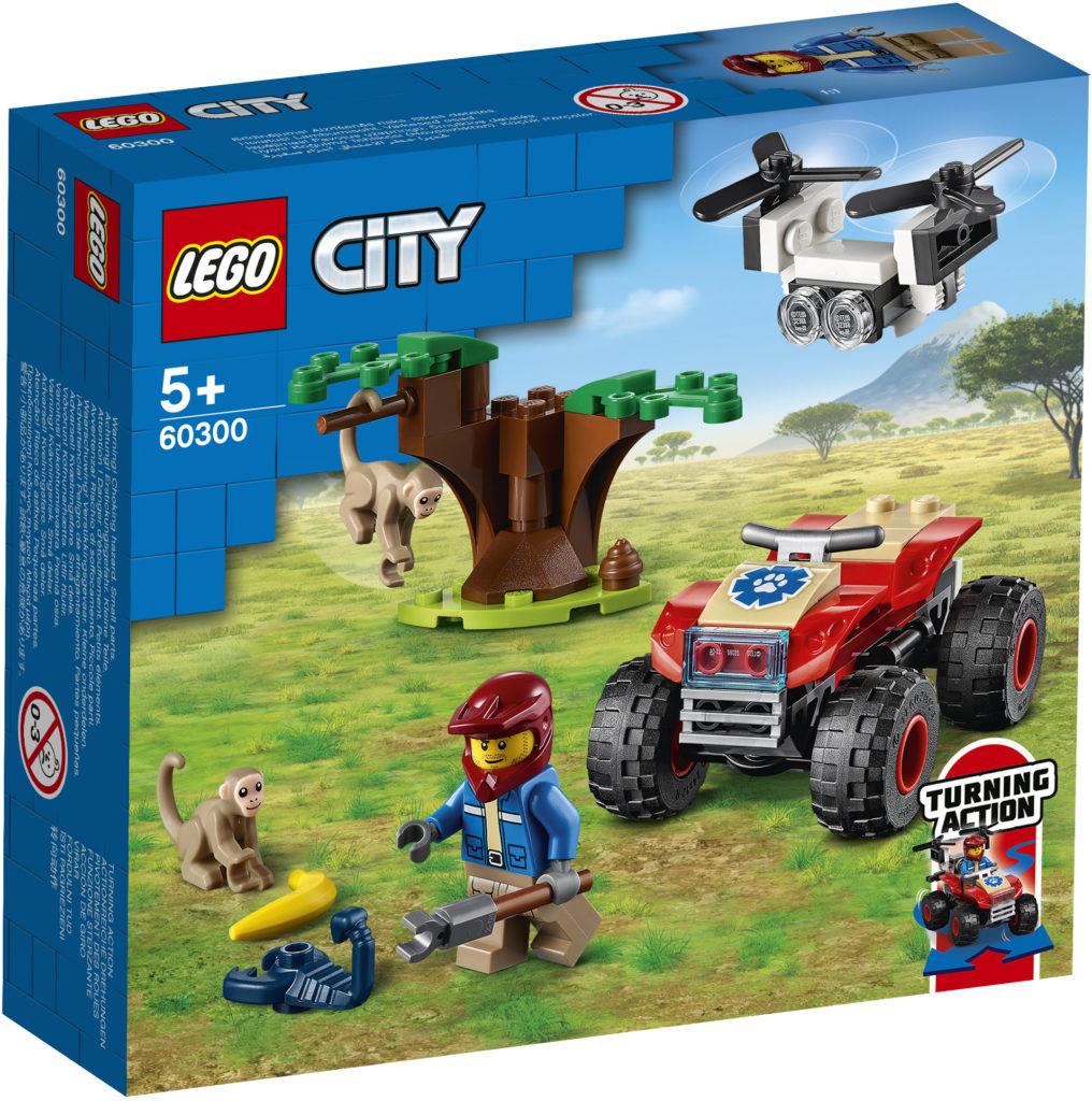 LEGO City 60300 ცხოველთა გადარჩენა ATV