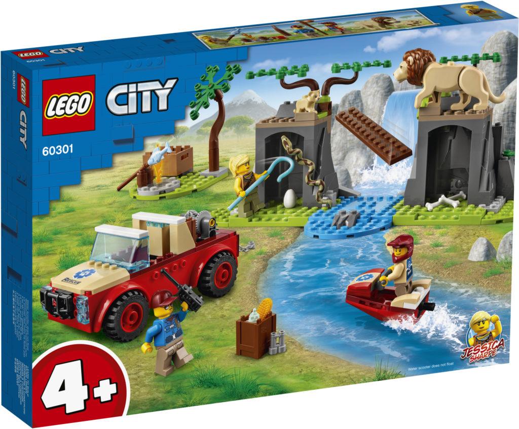 LEGO City 60301 ცხოველთა სამაშველო საავტომობილო გზა