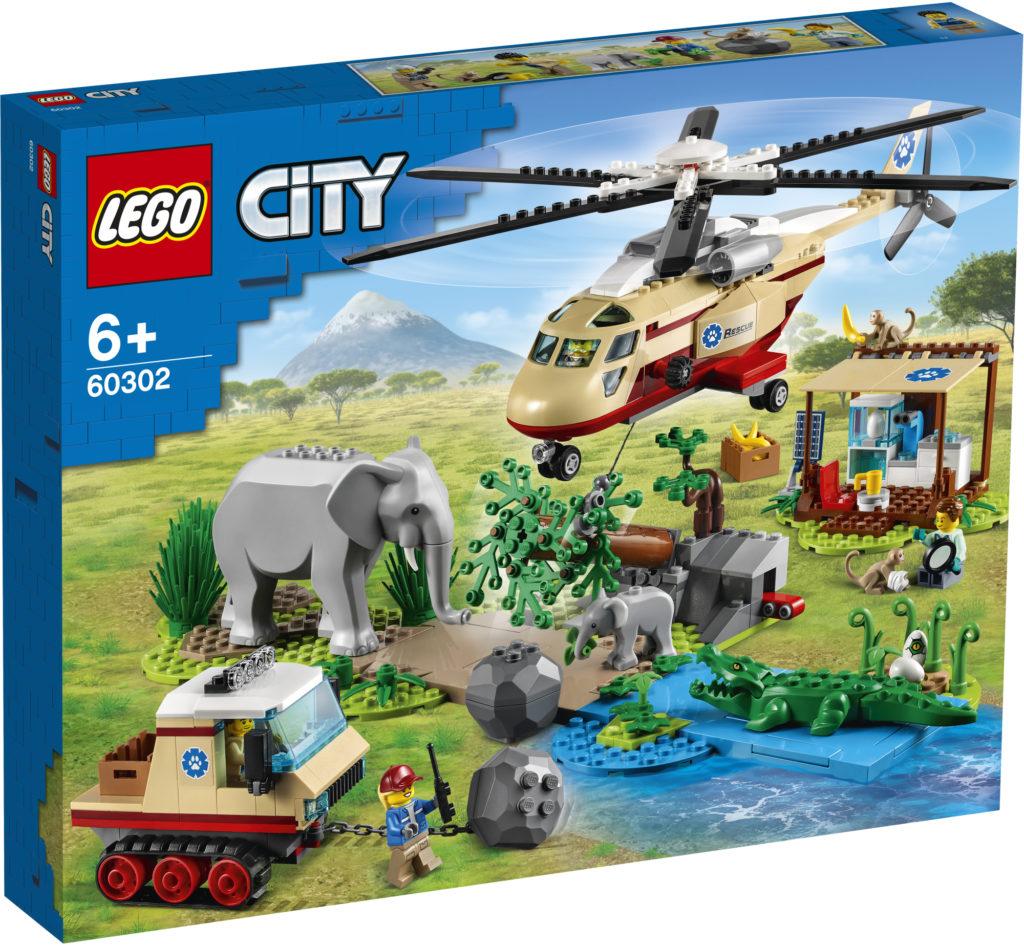 LEGO City 60302 Animal Rescue Operation