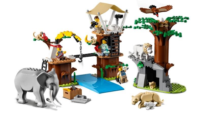 LEGO City 60307 Wildlife Rescue Camp Featured