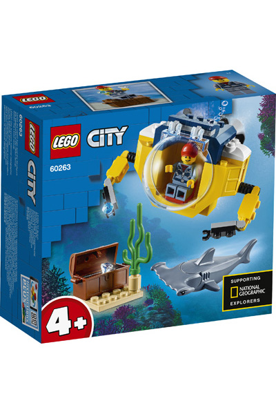 LEGO City 60623 Mini Submarine 2