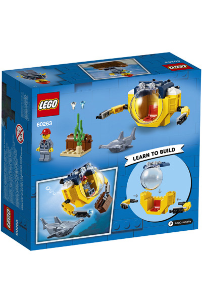 LEGO City 60623 Mini Submarine 3