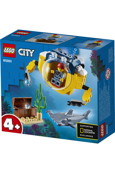 LEGO City 60623 Mini Submarine 4