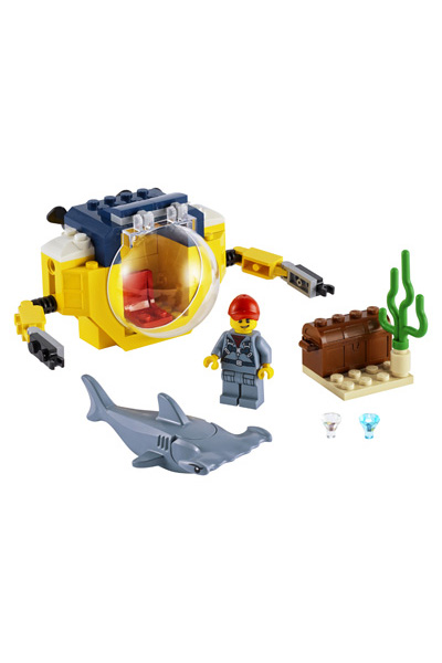 LEGO City 60623 Mini Submarine 5