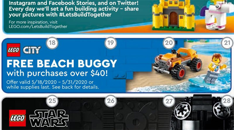 LEGO City promotion