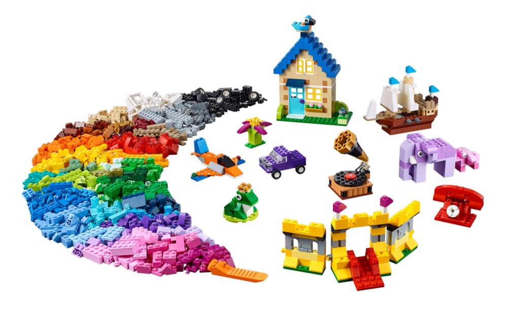 LEGO Classic 10717 Brick Bricks Bricks contents