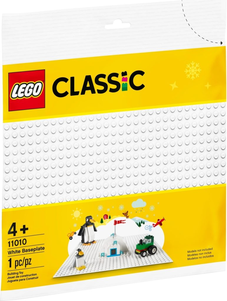 LEGO Classic 11010 White Baseplate 1