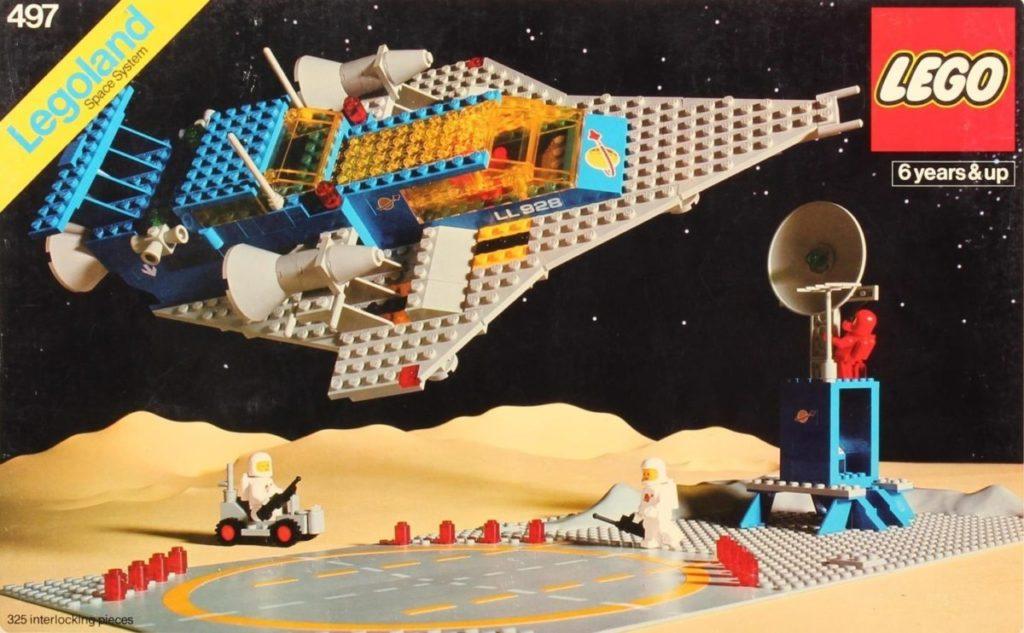 LEGO Classic Space 497 Galaxy Explorer