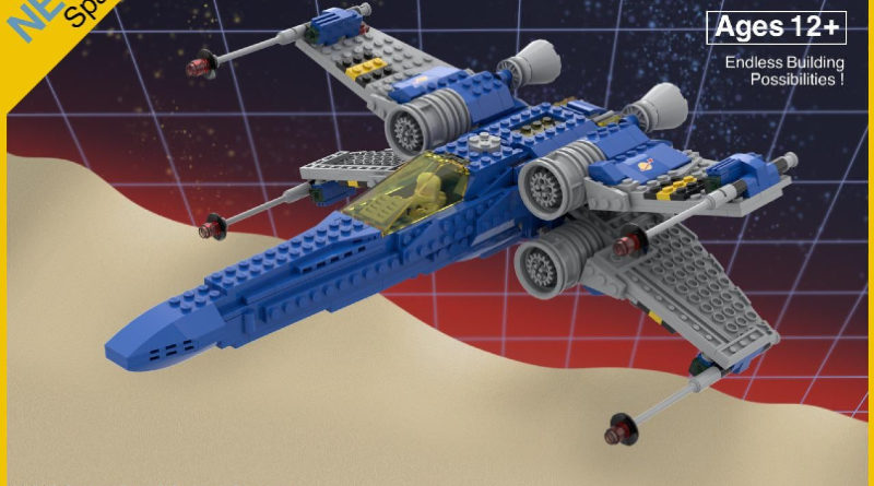 LEGO Classic space star wars featured