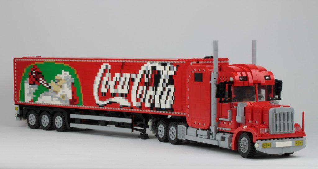 LEGO Coke Cola Truck