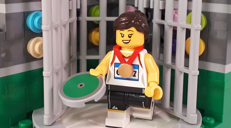 LEGO Collectible Minfigures Series 20 Field Athlete Featured