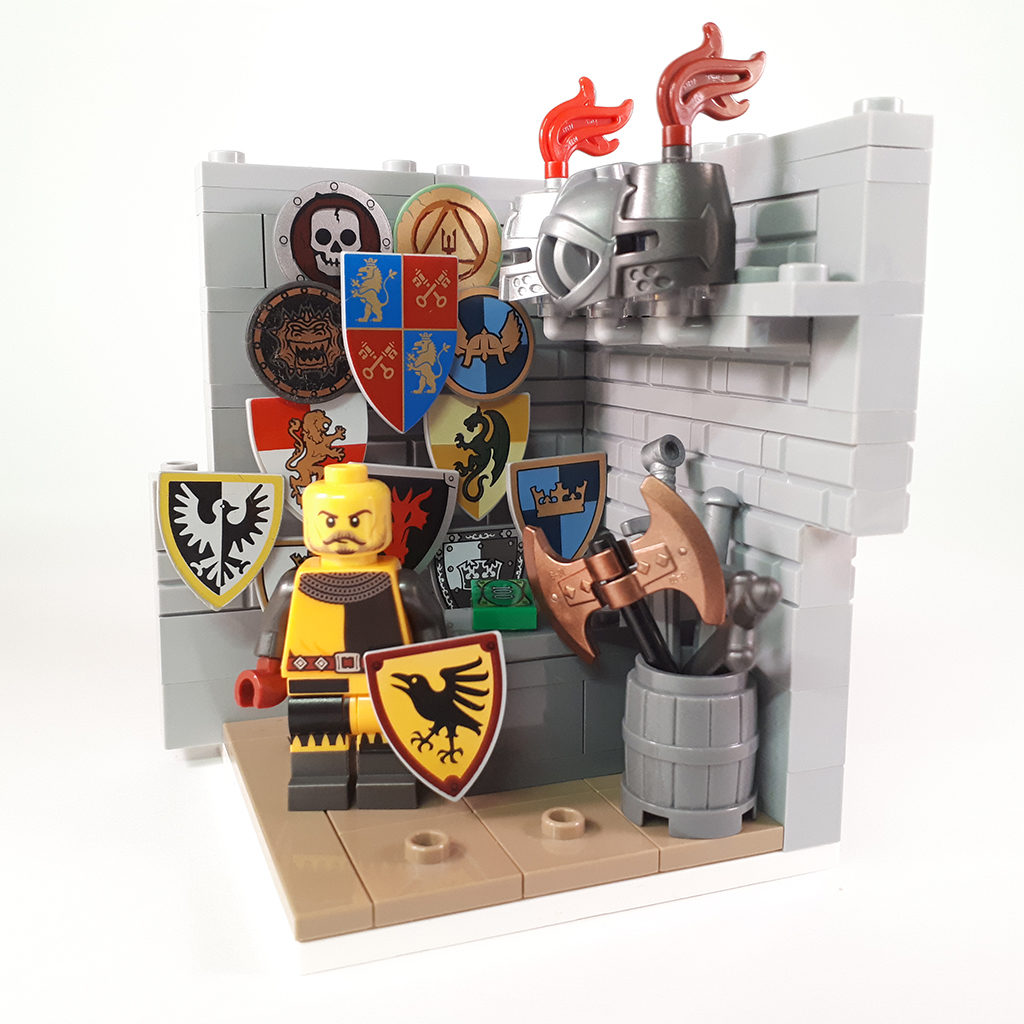 LEGO Collectible Minfigures Series 20 Knight 1024x1024