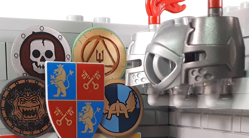 LEGO Collectible Minfigures Series 20 Knight Featured