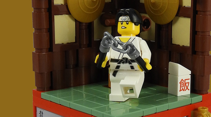 LEGO Collectible Minfigures Series 20 Martial Artist Featured 800x445