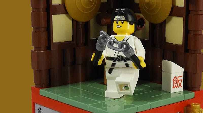 LEGO Collectible Minfigures Series 20 Martial Artist Featured