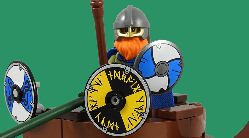LEGO Collectible Minfigures Series 20 Viking Featured