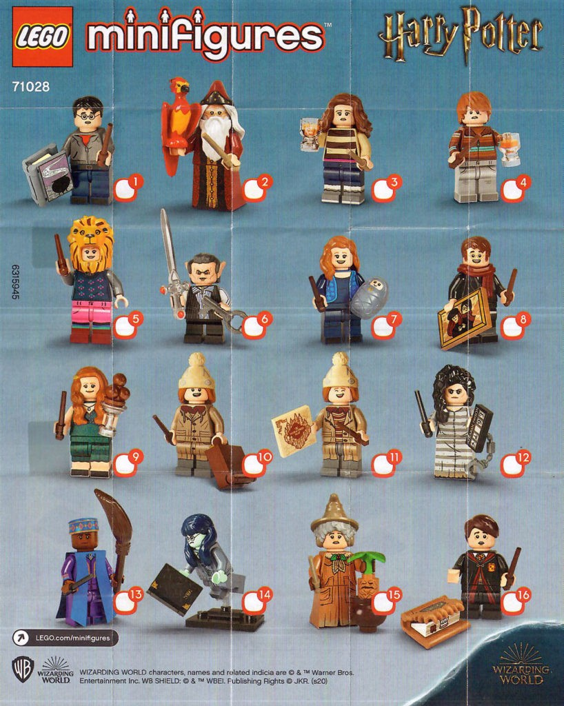 LEGO Collectible Minifigures 71028 Harry Potter 1
