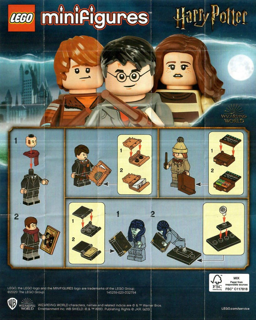 Lego Collectible Minifigures 71028 Harry Potter Series 2 Revealed