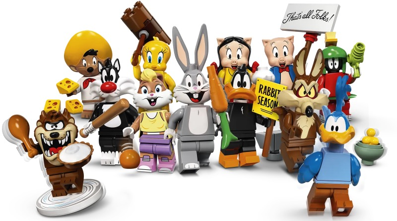 LEGO Collectible Minifigures 71030 Looney Tunes Featured