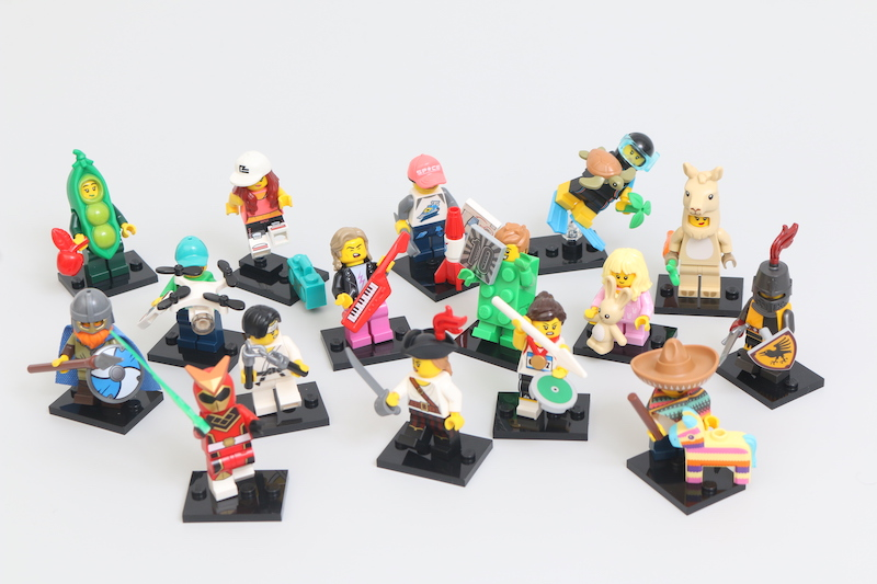LEGO Collectible Minifigures Series 20 Review Main