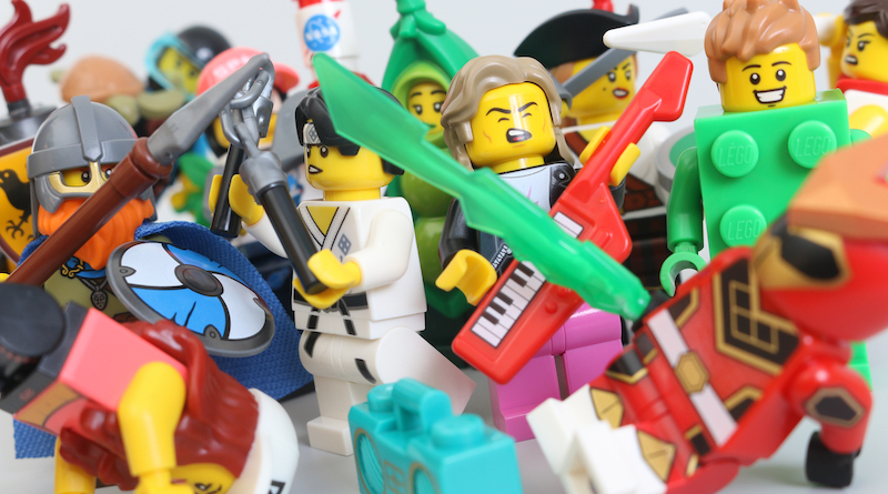 LEGO Collectible Minifigures Series 20 Review Title