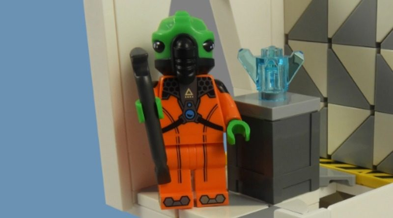 LEGO Collectible Minifigures Series 21 – Alien featured