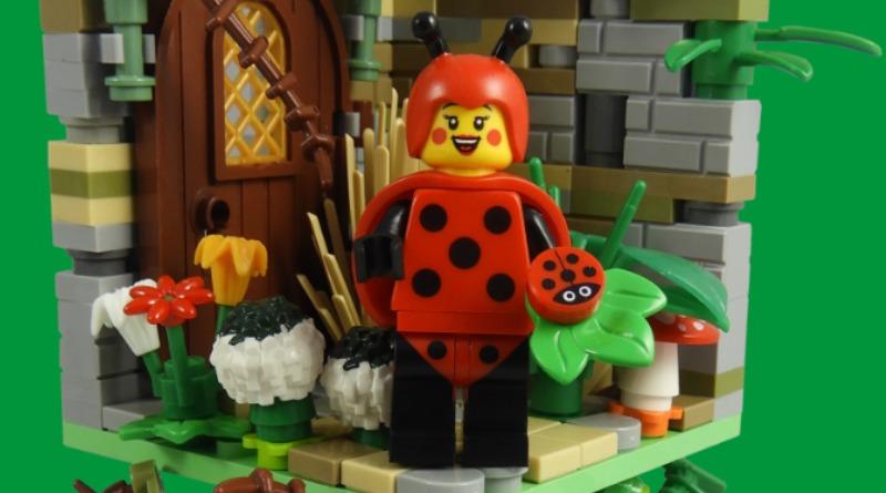 LEGO Collectible Minifigures Series 21 – Ladybug Girl Featured