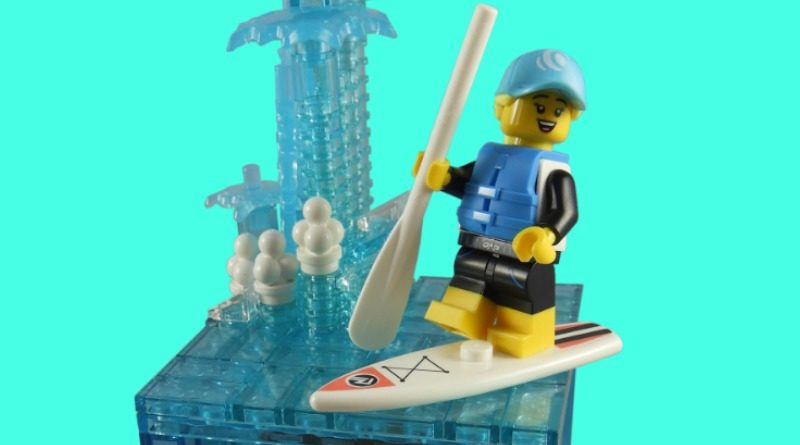 LEGO Collectible Minifigures Series 21 – Paddle Surfer featured