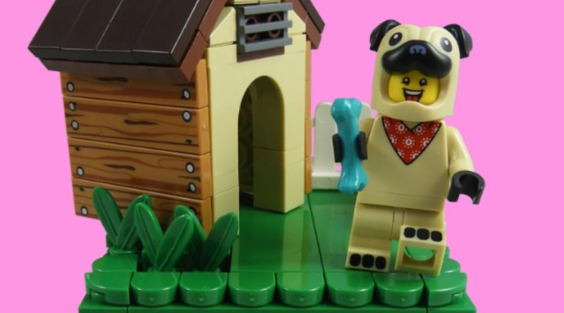 LEGO Collectible Minifigures Series 21 – Pug Costume Guy featured