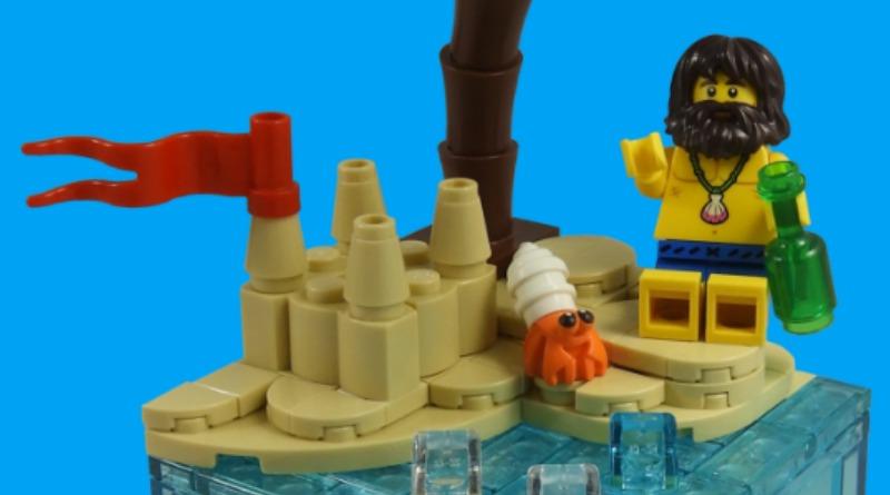 LEGO Collectible Minifigures Series 21 – Shipwreck Survivor Featured
