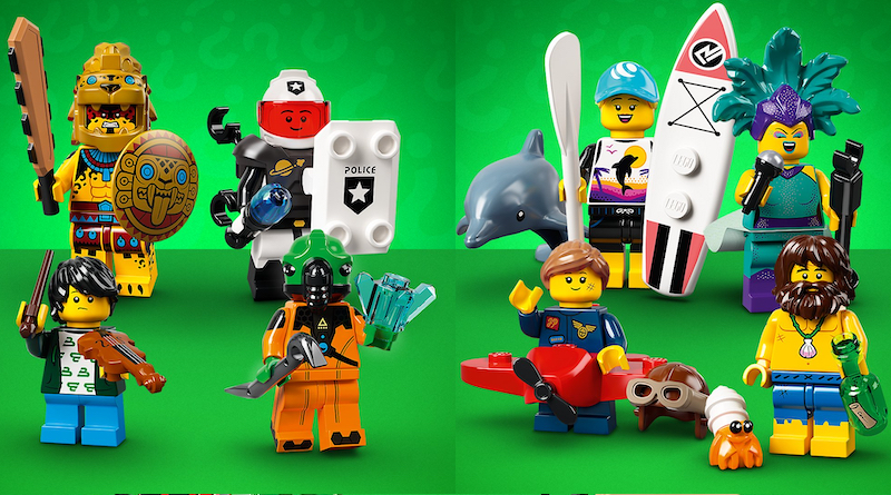 LEGO Collectible Minifigures Series 21 Title