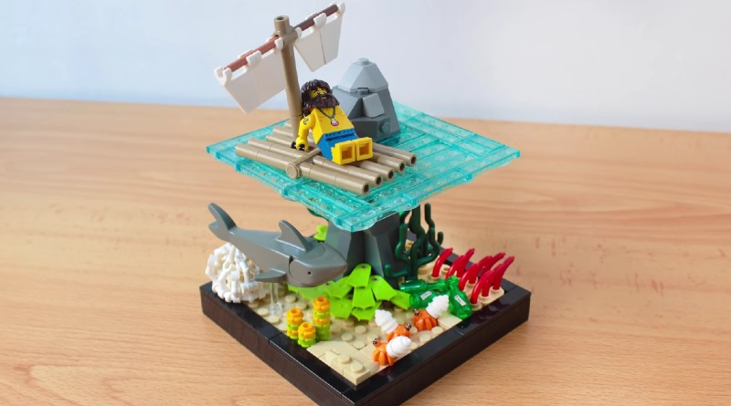LEGO Collectible Minifigures Series 21 Fan Made Vignette Featured