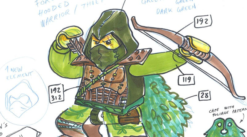 LEGO Collectible Minifigures sketches featured