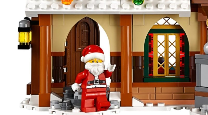 LEGO Creator 10245 Santas Workshop minifigure featured