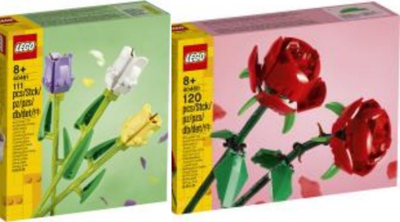 LEGO Creator 2021 Flowers Featured