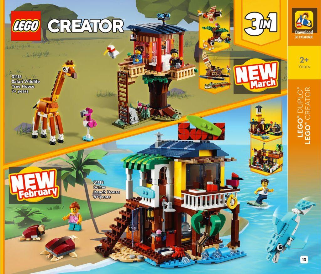 LEGO Creator 3 In 1 2021 Catalogue 2